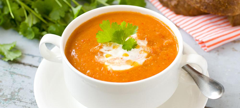 Karotten Ingwer-Kokos-Suppe